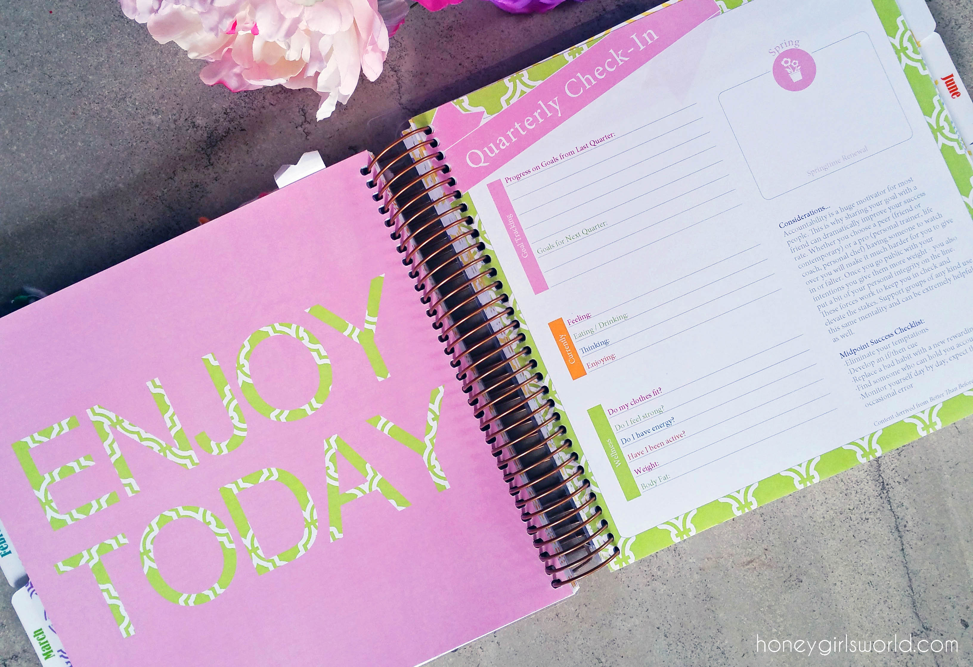 Planner, KIT Life Planner, Keeping It Together Planner, planner addict, planner review, 2016 planner, erin condren dupe, day on a page planner, yearly planner, yearly organizer, filofax, kikki k, planner accessories, plan, organization,
