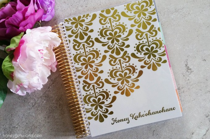Erin Condren Life Planner 2016 – Horizontal Layout (Video)