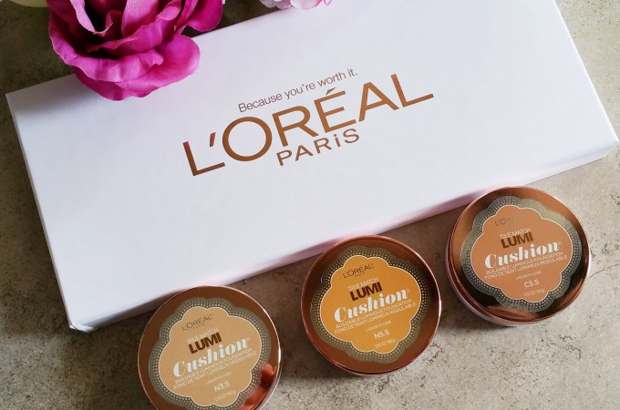 L'Oreal True Match Lumi Cushion Buildable Luminous Foundation – Review & Swatches