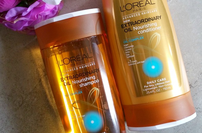 New L'Oreal Paris Advanced Haircare Extraordinary Oil Collection – Review