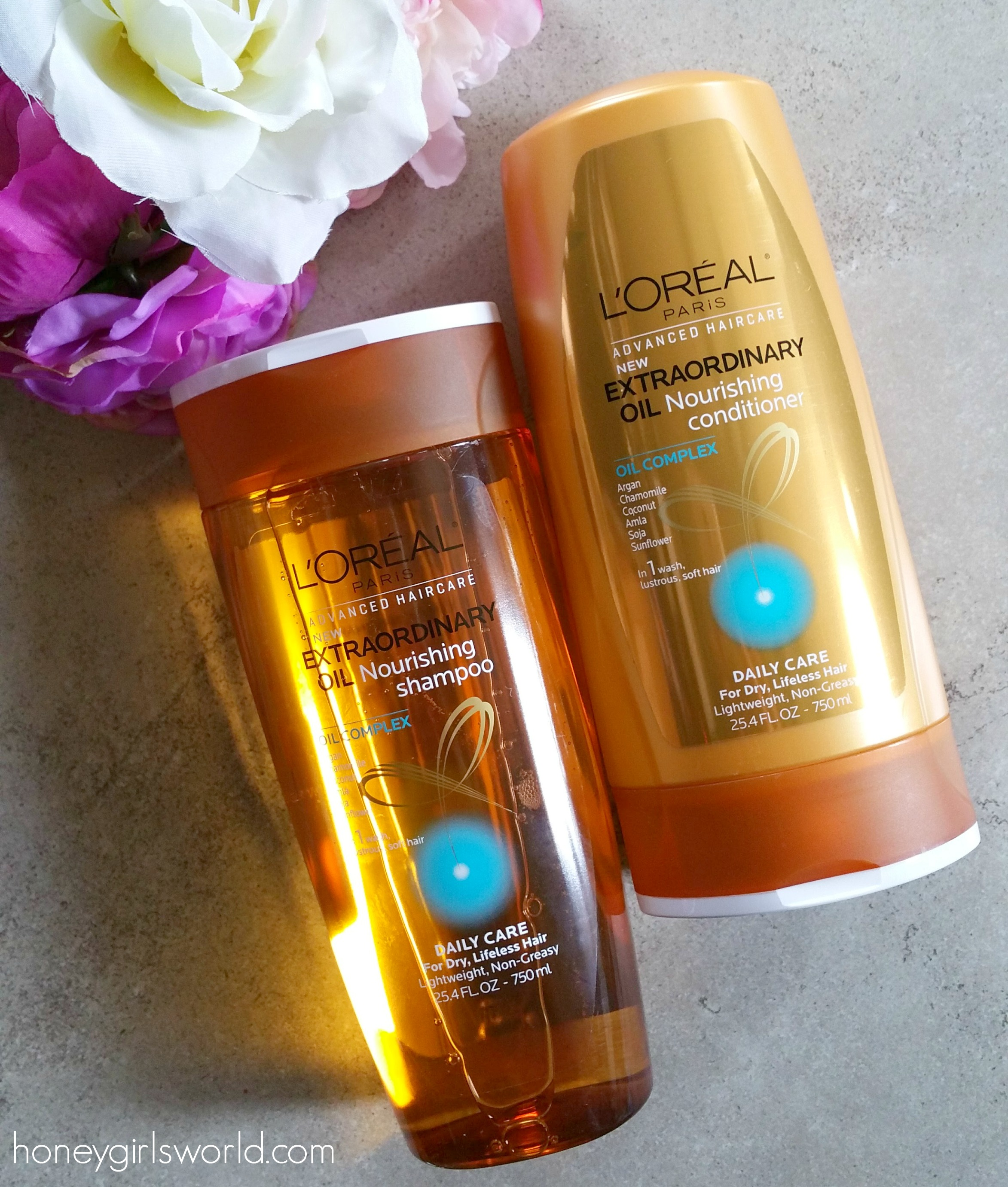 New L'Oreal Paris Advanced Haircare Extraordinary Oil Collection - Review - Honeygirl's World - Lifestyle & Beauty Blog
