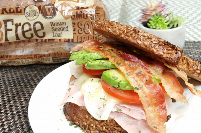 Foodie Friday – A Sandwich You'll Love Featuring BFree Foods Brown Seeded Loaf