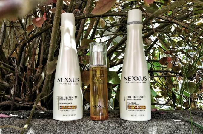 Hair Rescue Thanks to Nexxus Oil Infinite System