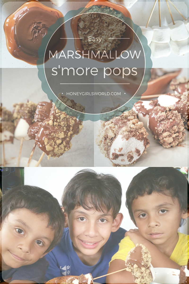 recipe, hersey's hello hersey, s'mores, s'mores pops, yummy, snack, food porn, recipe