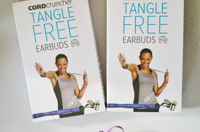 No More Tangled Headphones?  CordCruncher Tangle Free Ear Buds