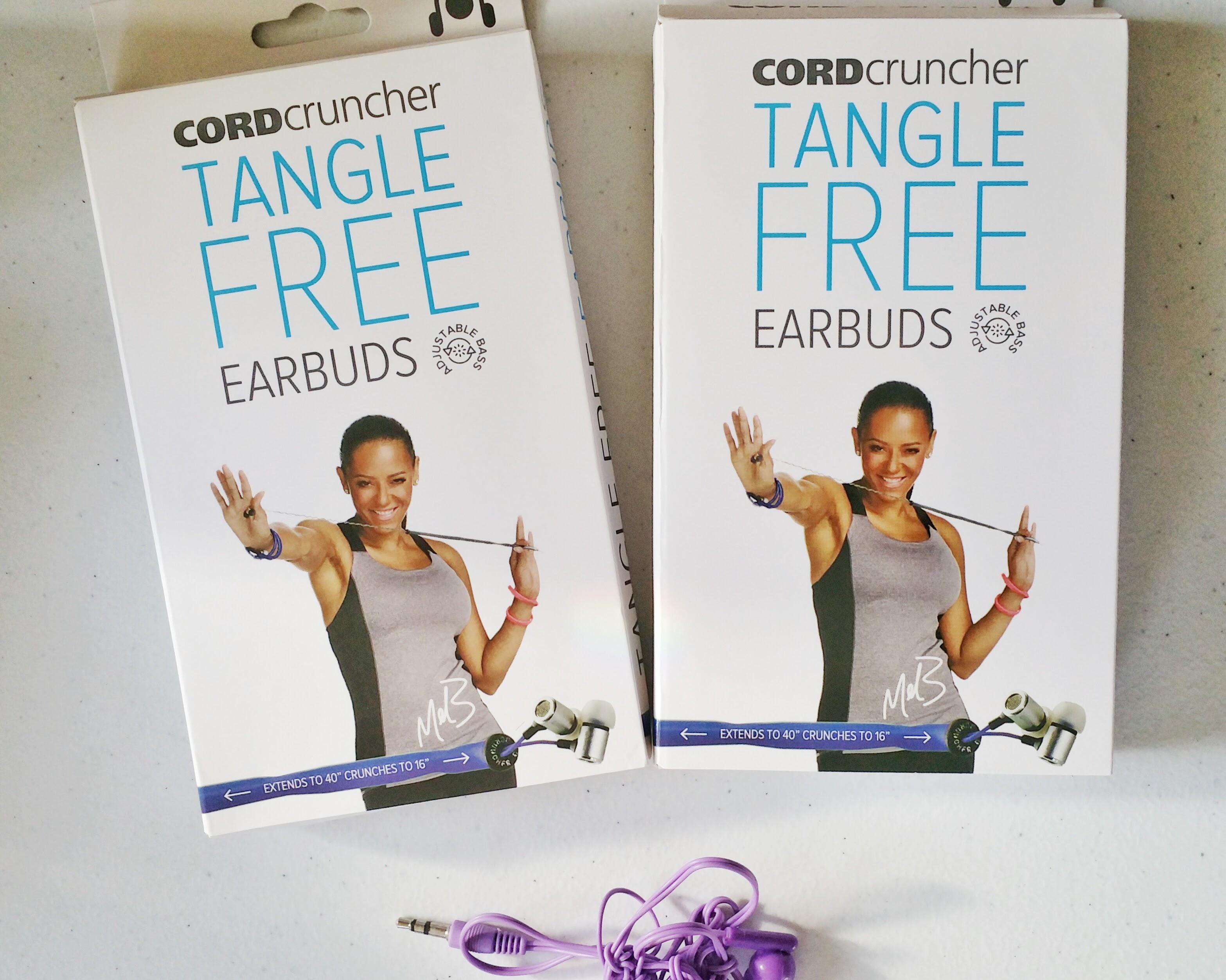 CordCruncher, Tangle free headphones, headphones, tech gear, tech gadgets, gadgets, review, product review, electronics, mel b,