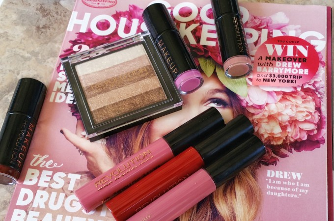 Highlight For Days – Makeup Revolution Vivid Shimmer Brick and Lippies