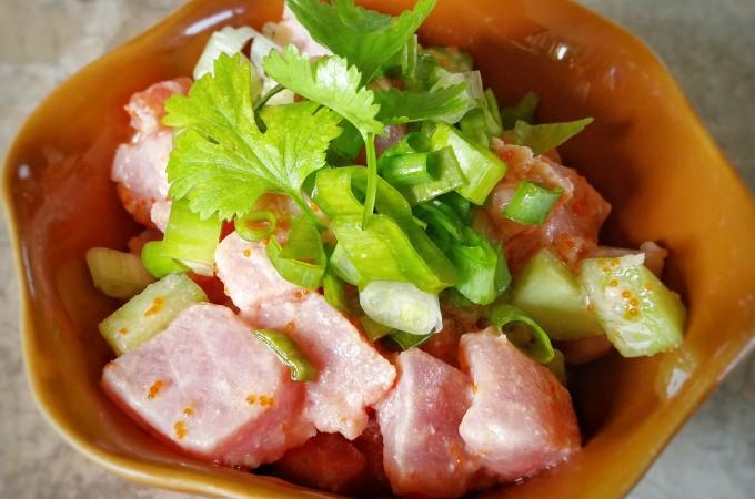 Foodie Friday – Poisson Cru, Tahitian Style Poke Recipe