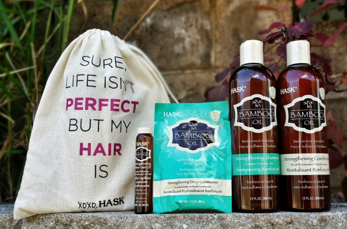 Strengthen and Nourish Your Hair This Summer With Hask Bamboo Oil Collection