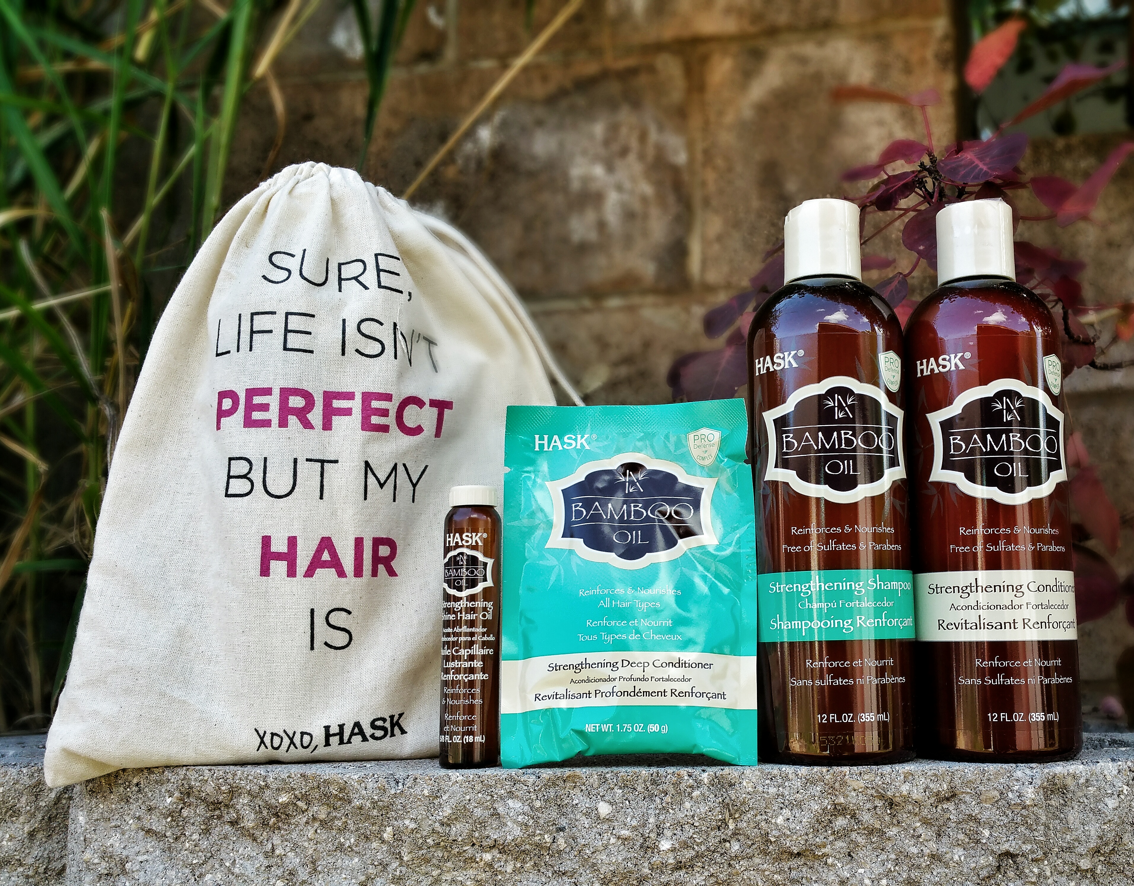 HASK, Hask hair care, HASK bamboo oil collection, hair, beauty, beauty review, hair product, curly hair, repair damage hair, strengthen hair, hair care review, hair product review, natural hair, long hair,