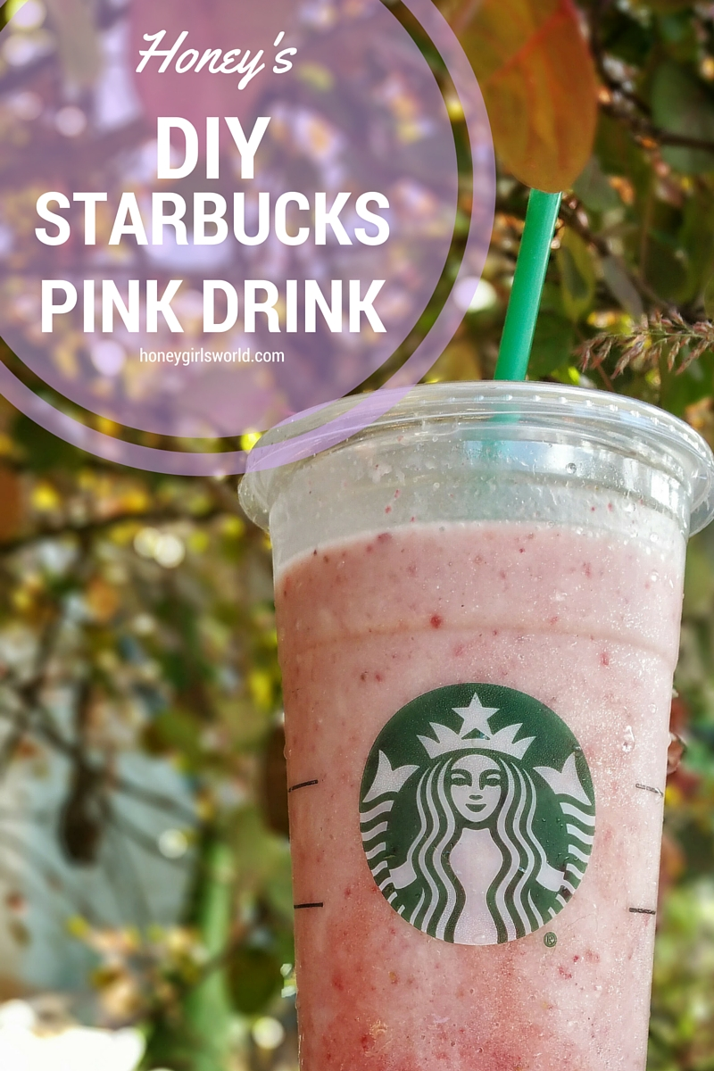 DIY, starbucks, do it yourself, starbucks pink drink, diy pink drink, diy starbucks pink drink, food, drink, delicious, recipe,