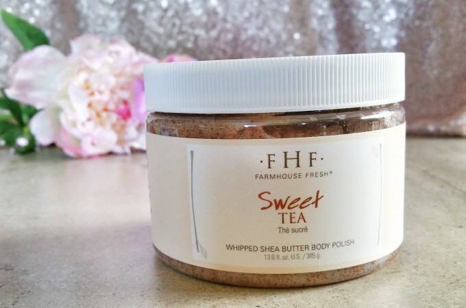 Quench Your Skin's Thirst This Summer With FarmHouse Fresh Sweet Tea Body Polish
