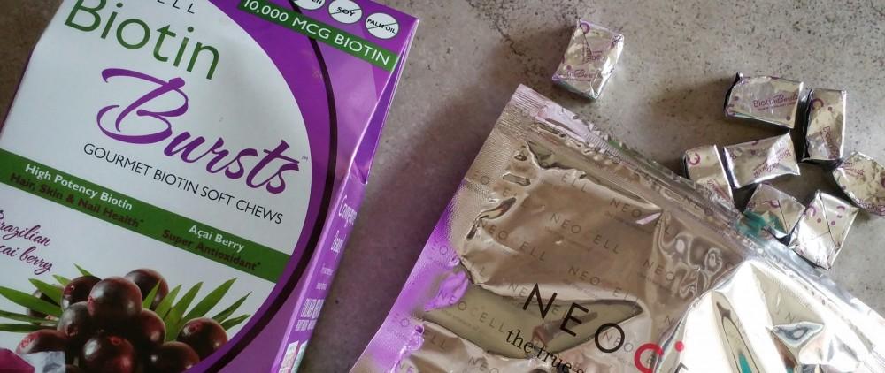 biotin, daily supplements, dietary supplements, biotin supplement, neocell, biotin bursts, gourmet biotin soft chews, soft chews, vitamins, review,