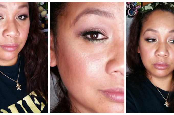 FOTD and GRWM – Summer Bronze With a Pop of Color Makeup Look