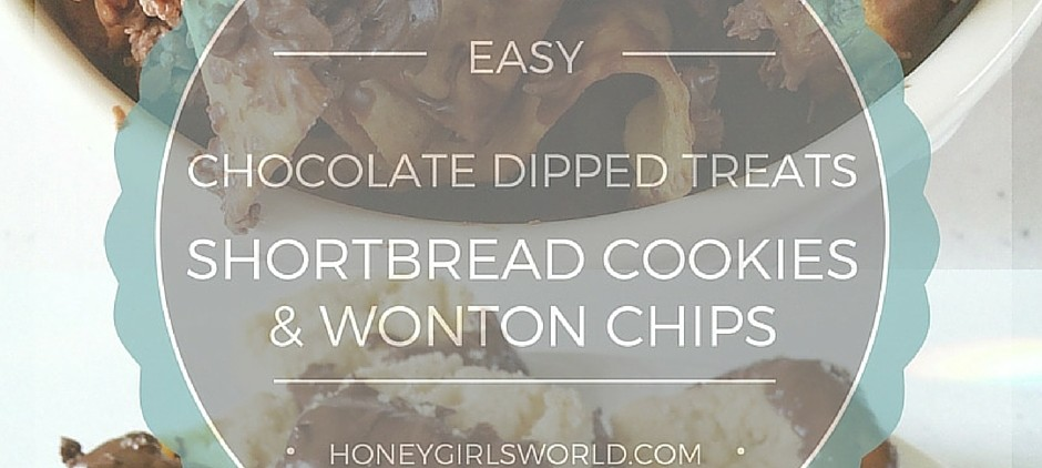 recipe, hershey's, chocolate dipped shortbread cookies, chocolate dipped wonton chips, food, family, happy moments, summer solstice, Hershey's chocolate, Hershey's kisses, easy recipe, dessert, snack,