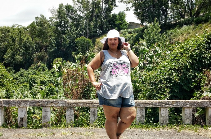 Plus Size Girls Can Wear Shorts – Summer Plus Size Casual Outfit