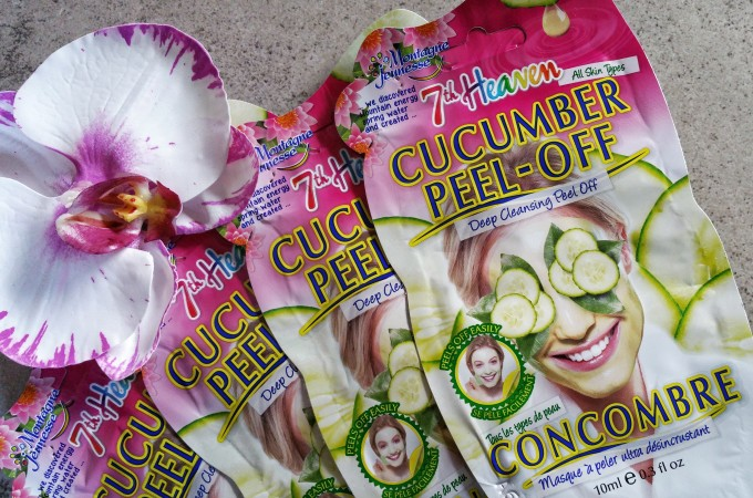 Easy & Affordable Way to Treat Your Skin This Summer With 7th Heaven Cucumber Peel Off Mask