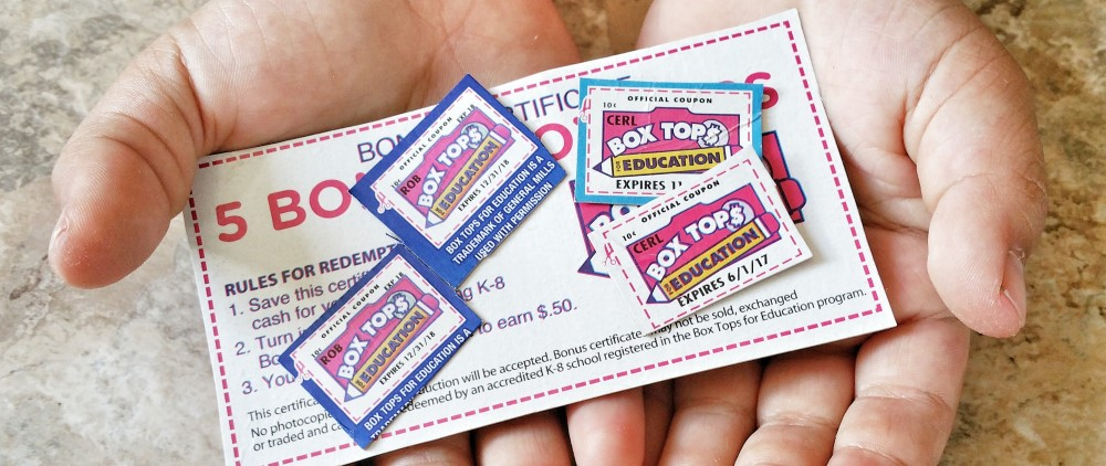 box tops for education, reynolds box tops, hefty box tops, box tops, education, coupon, discount, clevergirls, children, school, discount for schools,