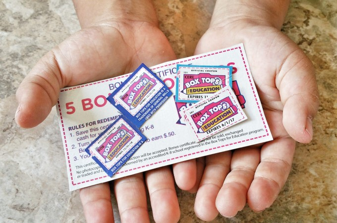 5 Reasons We Collect Box Tops For My Kids' Schools