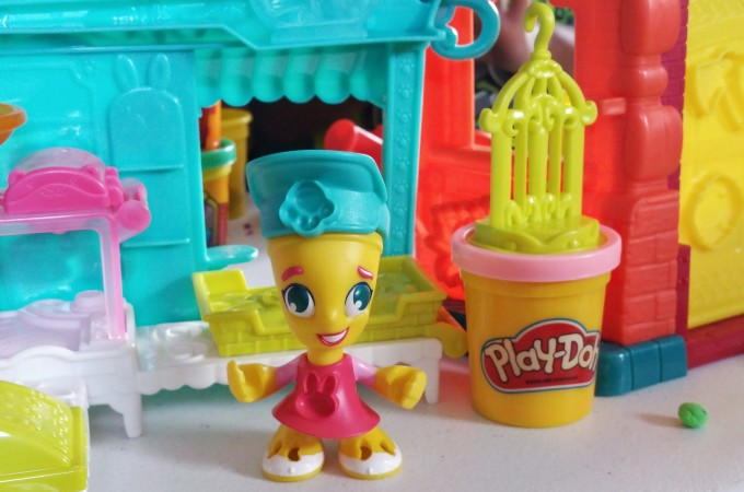 Having Fun and Creating Memories With Play-Doh Town