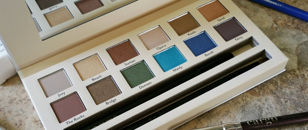 makeup, beauty, eye shadow palette, eye shadow, makeup palette, Cargo cosmetics, Cargo Land down under palette, land down under eye shadow palette, palette, makeup lover, pigmented shadows, swatches, review, eye shadow review,