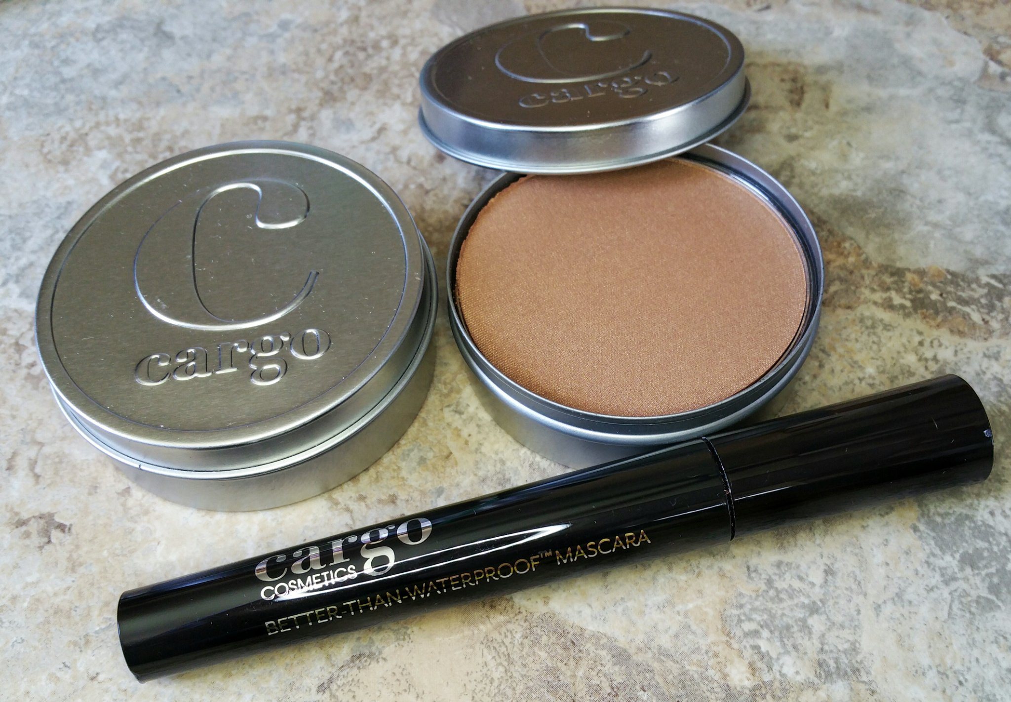Cargo cosmetics, cargo, swimmables, blush, face products, cosmetics, makeup, beauty, swatches, cargo blush and bronzer, blush, bronzer, contour, highlight, review, beauty review, makeup review,