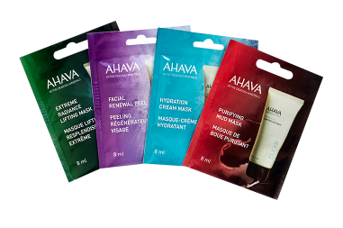 Get Your Mask On With AHAVA Dead Sea Mask Sampler – Freebie