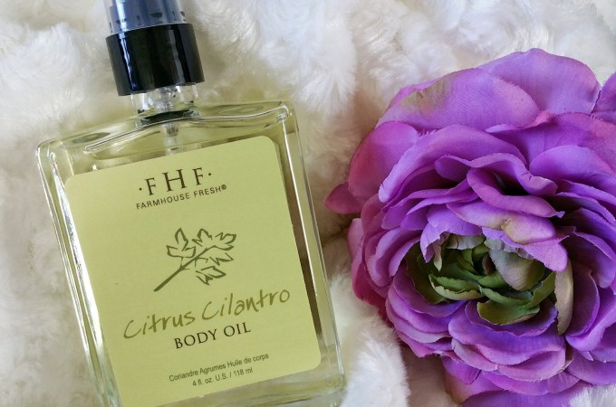 Keep Your Body Fragrant, Nourished & Glistened With FarmHouse Fresh Citrus Cilantro Body Oil