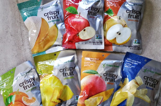 Yummy Snacks – Crispy Green Healthy Dried Fruits