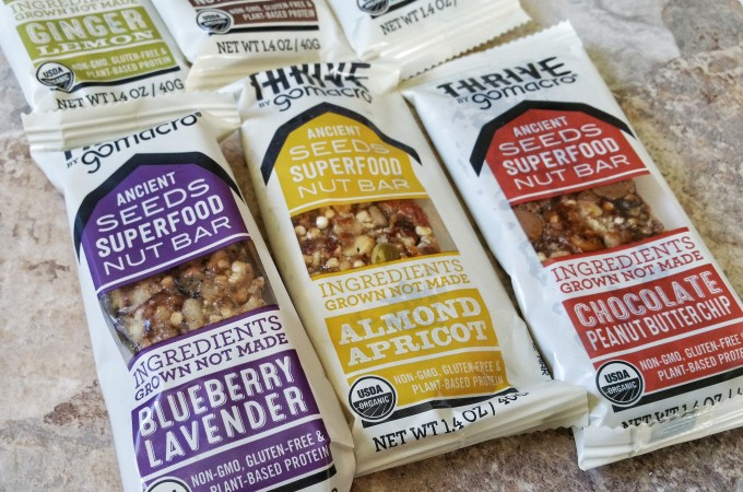 Taste Test – Thrive by GoMacro Ancient Seeds Superfood Nut Bar
