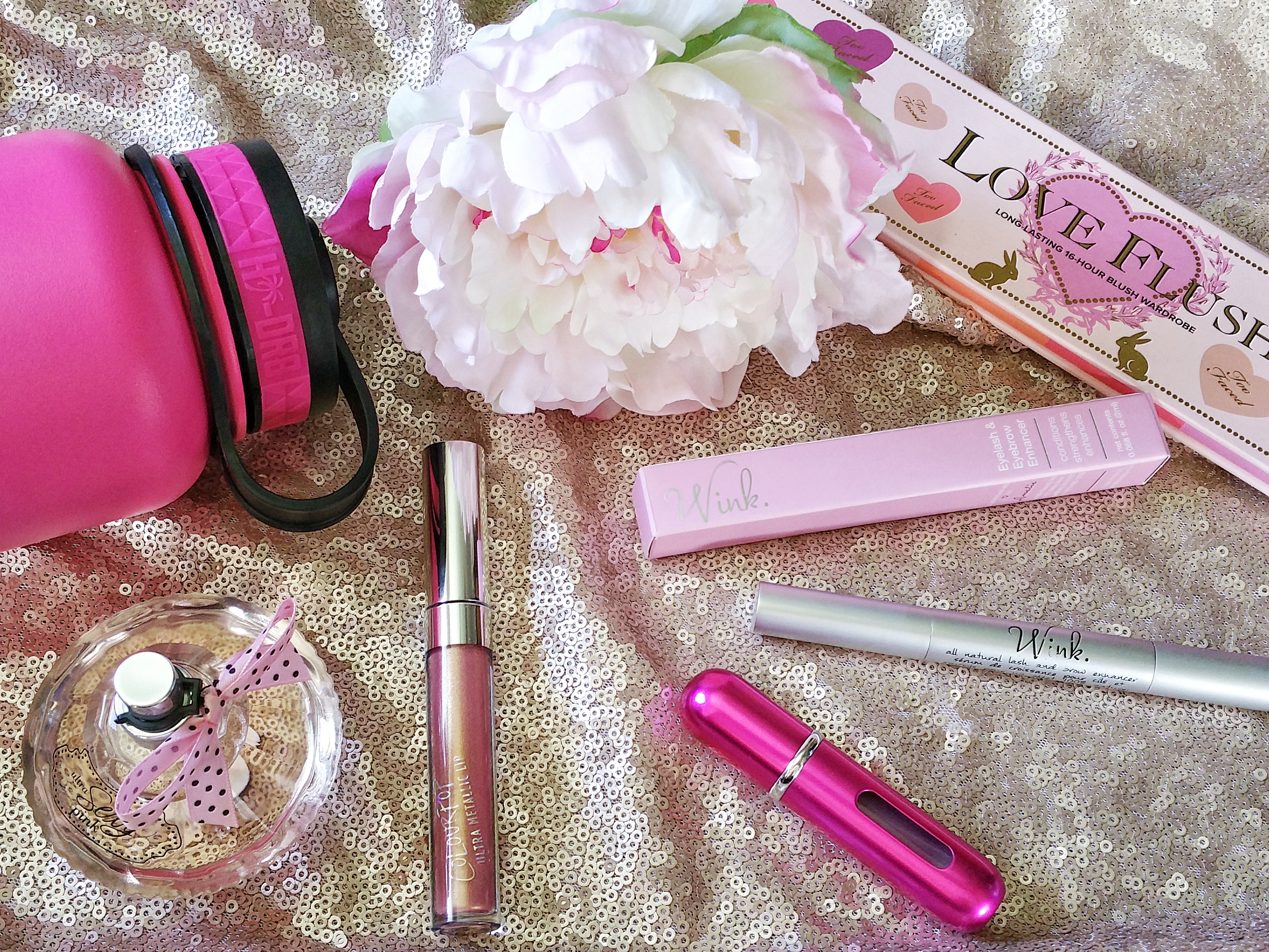 Amalie, WINK, lash and brow serum, lash growth serum, breast cancer awareness, breast cancer, go pink, amalie beauty, review, feature, beauty, makeup, longer lashes, beauty, lashes,