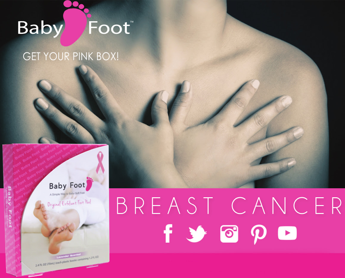think pink, breast cancer awareness, breast cancer, travalo, wink, amalie, hair la vie, baby foot, breast cancer awareness campaigns, review, feature, beauty, makeup,