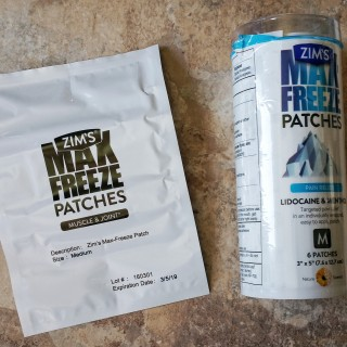Zim's Max-Freeze Patches, Zim's, pain relief, review, max-freeze patches, lidocaine and menthol patches, pain relief patches, lidocaine, menthol,
