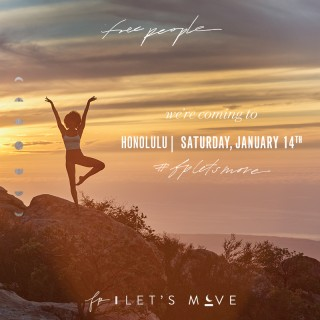 Free People, 3rd Annual, worldwide event,