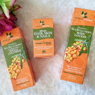 sea buckthorn, seabuckwonders, sea buckthorn berry, review, supplements, health, skin care, product review, seabuckwonders buckthorn company, buckkthorn, omega 7 complete, body lotion, skin care, health, cleanser, facial cleanser, facial moisturizer,