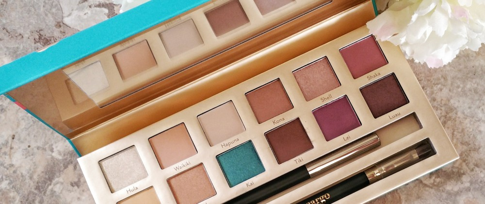 Cargo Cosmetics, You had me at hello, limited edition, eye shadow palette, cargo, anuhea jenkins, makeup, beauty, review, swatches, hawaii, maui, eyeliner, eye shadow brush, eye shadow swatches, gorgeous, beautiful