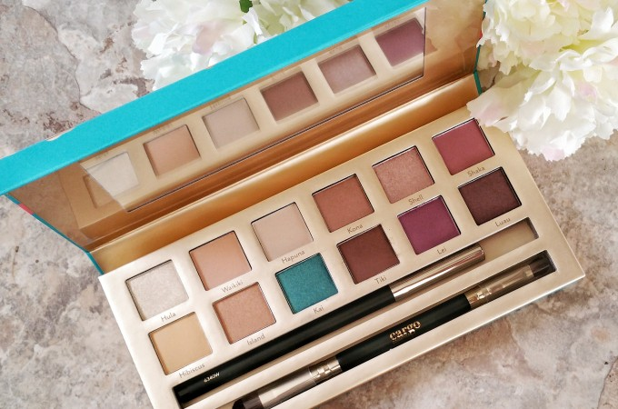 The Limited Edition Eye Shadow Palette That's Hawaiian Themed by Hawaii's Sweetheart – Cargo Cosmetics You Had Me At Aloha