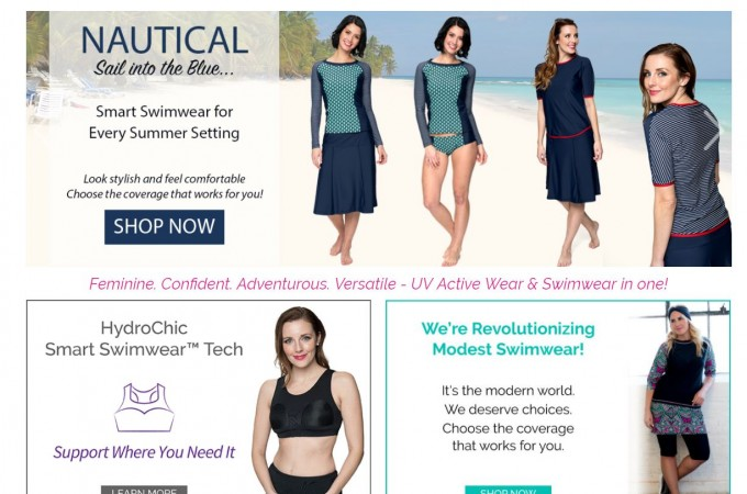 Getting Ready for Summer With HydroChic Swimwear & Activewear