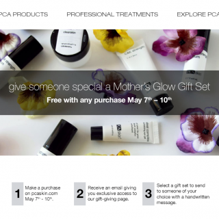 event, PCA SKIN, mother's day, freebie, mother's day gift,