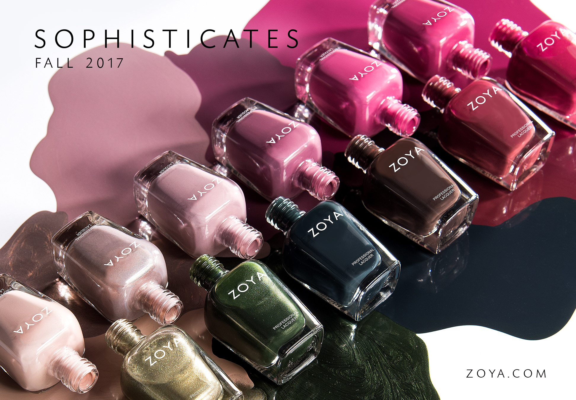 Zoya Fall 2017, Zoya, Fall 2017 collection, nail polish, nail polish collection