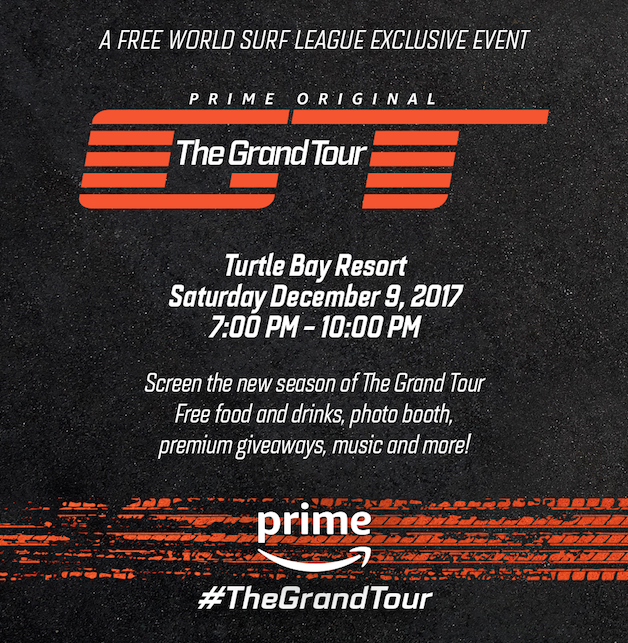 FREE World Surf League Exclusive Event – Details