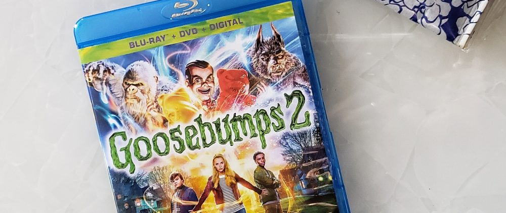 goosebumps 2, goosebumps the movie, goosebumps 2 movie, r.l. stine, books, scholastic books, movie night, movie review,