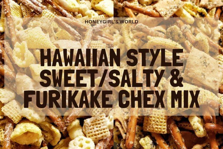 Furikake Chex Mix