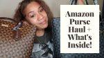 Amazon Purse Haul + What's Inside!