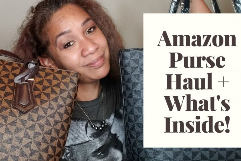 Amazon Purse Haul + What's Inside!